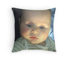Marlow pondering Throw Pillow