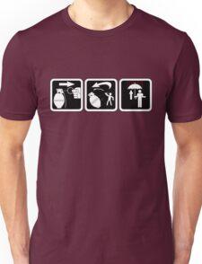 Grenade throwing 101 Unisex T-Shirt
