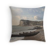 St Margaret's Bay - Kent - UK Throw Pillow
