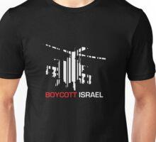 Boycott Israel NEG (heli version) Unisex T-Shirt