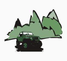 Jeeping It!: GREEN T-Shirt