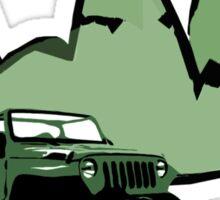 Jeeping It!: GREEN Sticker
