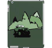 Jeeping It!: GREEN iPad Case/Skin