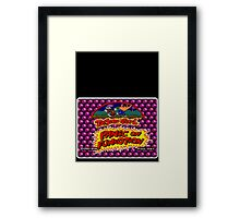 Toejam Earl Genesis Megadrive Sega Start menu screenshot Framed Print