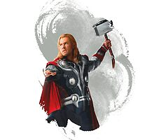 Thor Odinson by redroseses