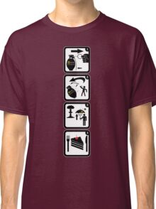 MX-1000 Thermal H-class tactical hand grenade Classic T-Shirt