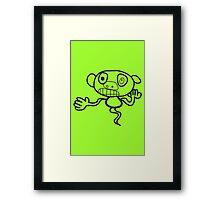 MonkeyGhost! Framed Print