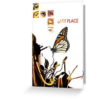 Last Place Butterfly Greeting Card