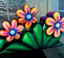 SCULPTED FLOWERS by vinn