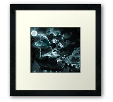 Mysterious night.... Framed Print