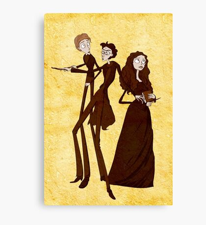 Tim Burton's Potter Canvas Print
