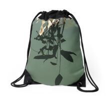Reflections of Leaves Drawstring Bag