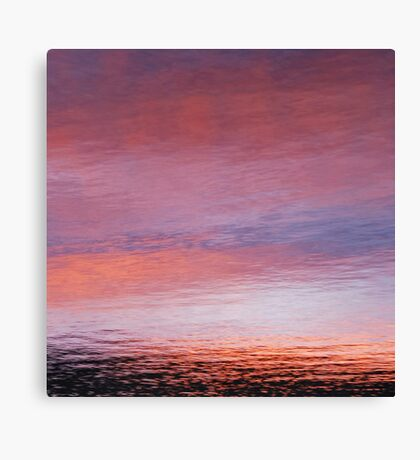 mellow dusk Canvas Print