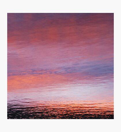 mellow dusk Photographic Print