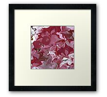 Cherry blossom/ART + Product Design Framed Print