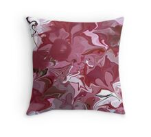 Cherry blossom/ART + Product Design Throw Pillow