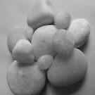 White Stones by Tracy Wazny