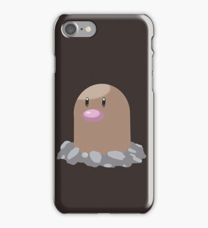Digett Pokemon Simple No Borders iPhone Case/Skin