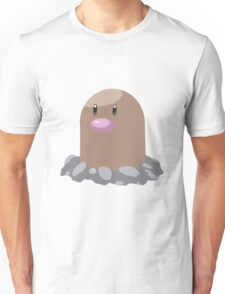Digett Pokemon Simple No Borders Unisex T-Shirt