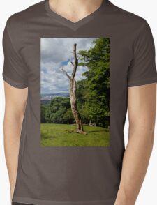 Still Standing Mens V-Neck T-Shirt