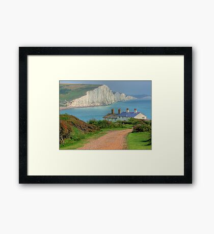 The Seven Sisters - The Classic View!  - HDR Framed Print