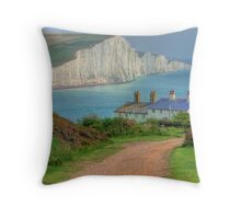 The Seven Sisters - The Classic View!  - HDR Throw Pillow