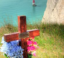The Sad Side of Beachy Head  by Colin J Williams Photography