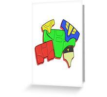 Auto Panty Greeting Card