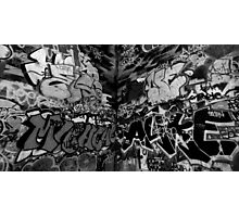 South Bank Graffiti - 1/5 Photographic Print
