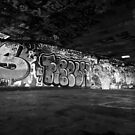 South Bank Graffiti - 3/5 by Pepperkayn