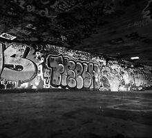 South Bank Graffiti - 3/5 by Pepperkayn