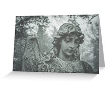 Cemetery Angel no. 2 Greeting Card