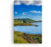 Dunvegan Castle Isle of Skye Canvas Print