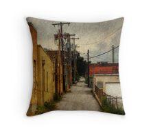 Kansas City Alley 2 Throw Pillow