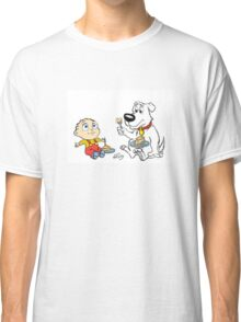Stewie and Brian Disney Style Classic T-Shirt