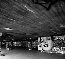 South Bank Graffiti - 5/5 by Pepperkayn