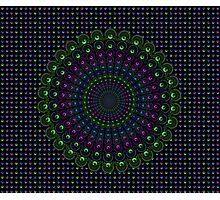 Psychedelic Spin Photographic Print