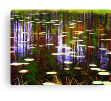 Fall Pond Canvas Print