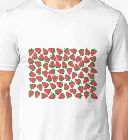 Lots of Strawberries Unisex T-Shirt