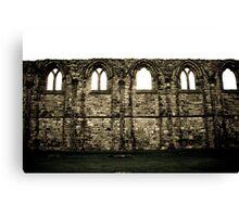 Abbey Wall Canvas Print