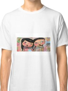 'Together' a couple in love  Classic T-Shirt