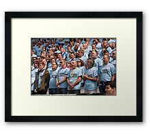 Rugby World Cup 2015 The Pack Framed Print