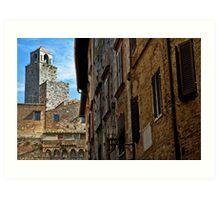 San Gimignano, Tuscany Art Print