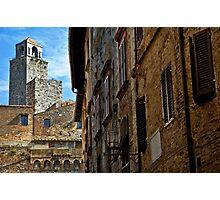 San Gimignano, Tuscany Photographic Print