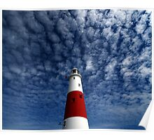 Portland Bill Light Poster