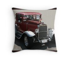 A COOL 30 BRUSHSTROKES Throw Pillow