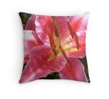 Fantasy Lily Throw Pillow