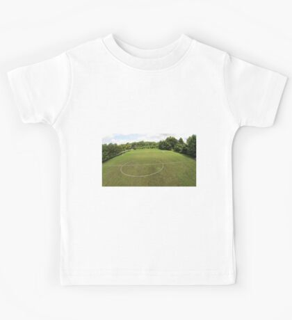 Arial Soccer Field Photo from Drone Kids Tee