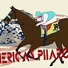 American Pharoah - Kentucky Derby 2015 by Ginny Luttrell