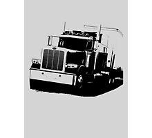Semi Truck Photographic Print